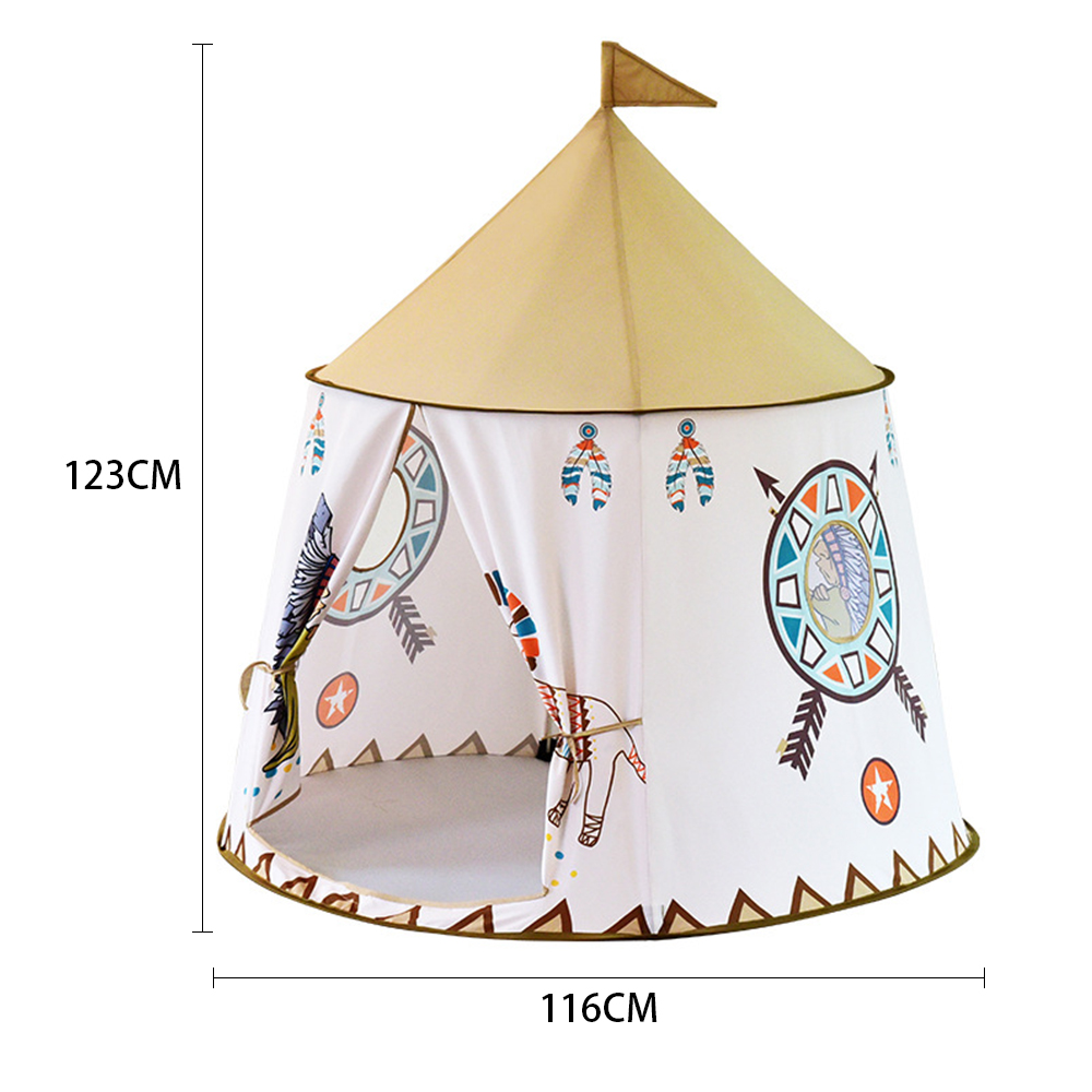 Cartoon Play Tent Portable Foldable Boy Girls Princess Folding Tent Children Boy Play House Kids Outdoor Toy Teepee Tipi Tent-in Toy Tents from Toys & Hobbies    2