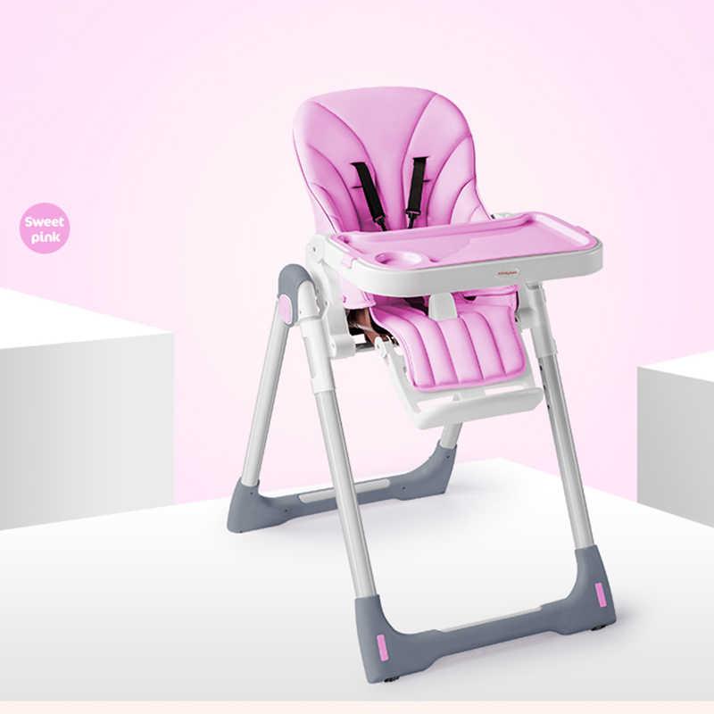 W12 Crianças Cadeira mobília Do Bebê Infantil Portátil Assento Crianças Cadeira Mesa de Jantar Cadeira Dobrável Ajustável Multifuncional Ajustável