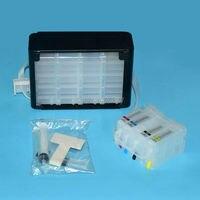 PGI-1200 PGI-1200XL PGI 1200 1200XL toplu CISS sürekli mürekkep besleme sistemi Için canon maxify mb2020 mb2320 yazıcılar için ARC çip ile