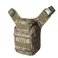 Field Tactical Shoulder Bag Military Camera Bag Photography Package Camping Hiking Trekking Rover Sling Fishing Bag