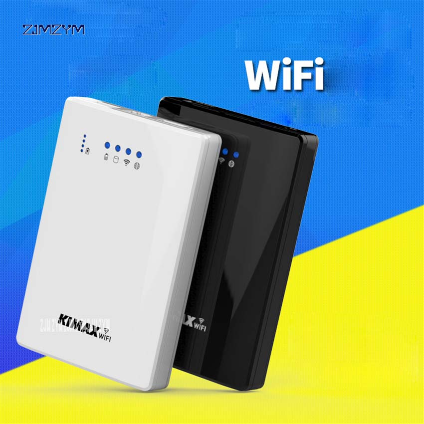 1PC 300Mbps Blueendless 500G 2.5 HDD SSD Hard Disk Wifi Router Sata to USB 3.0 HDD Enclosure with Power Bank function u25awf-1 wifi router rj45 usb 3 0 wireless wifi repeaterextender hard disk sata 3 5 hdd hard drive 1tb 2tb 3tb 5gbps external hdd case