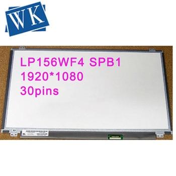 Free Shipping 15.6 inch lcd original model LP156WF4 SPB1 1920x1080 IPS eDP 30pin small For lenovo Y50 y700