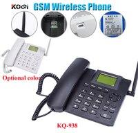 GSM Kablosuz Telefon ile sim kart yuvası 850/900/1800/1900 MHz Siyah renk ücretsiz kargo ücretsiz