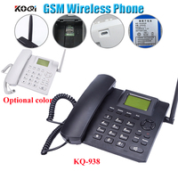 GSM Wireless Telephone with sim card slot 850/900/1800/1900MHz Black color free shipping free|Telephones| |  -
