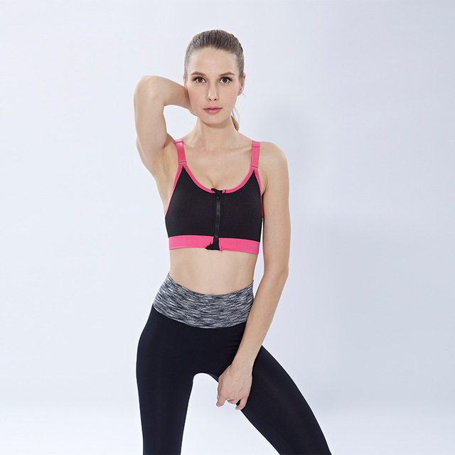 TOPTETN Women Cycling bras GYM lady Cycling exercise quick-drying underwear training Bicycle Shockproof vest