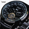 Turbilhão JARAGAR relógios de luxo homens mecânicos relógios À Prova D' Água 30 m homens moda Militar assista Negócios Vestem horas