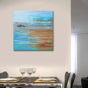 Acrylic Paint Home Decoration Oil Painting  on canvas hight Quality Hand-painted Wall Art 24X32 inch Storm Going