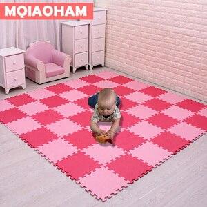 Image 2 - Tapete de eva para crianças com 9/18/pçs/set, mais novo tapete de mosaico de espuma para brincadeiras, desenvolvimento de bebês e engatinhando tapetes de quebra cabeça
