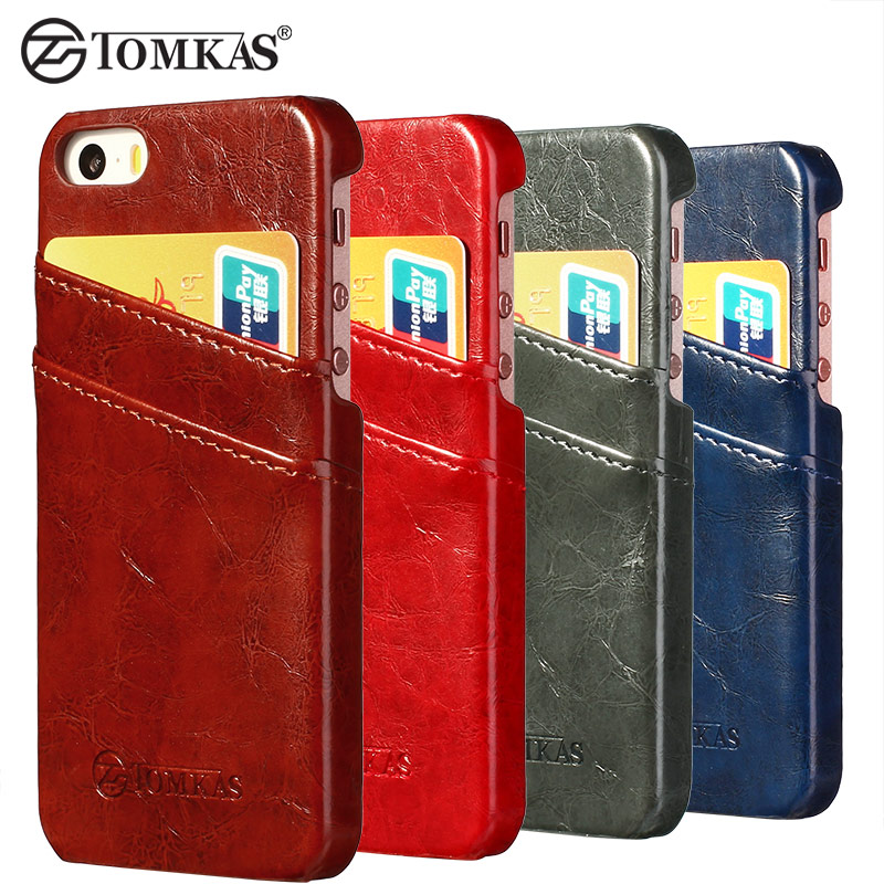 card case for iphone 5 5s se pu leather wax phone back. Black Bedroom Furniture Sets. Home Design Ideas