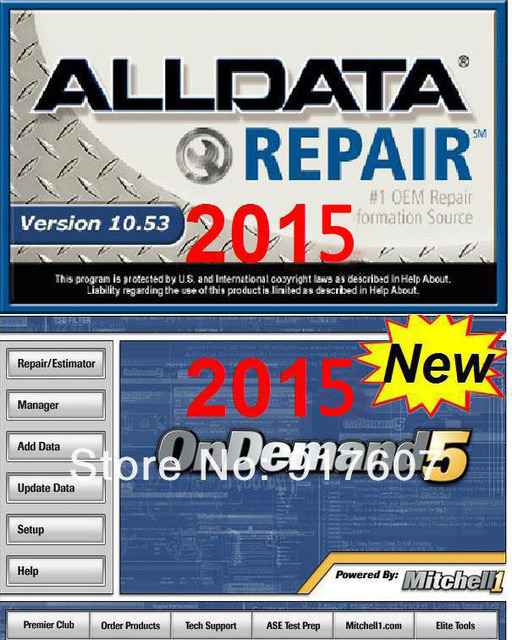 2015 promotion auto software alldata 10 53 and mitchell 2015 car rh aliexpress com Trashing Used Car Oil Automatic Car