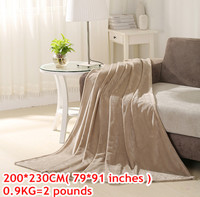 Bedcover Designer Brand Twin Coral Fluffy Bedding Blanket Coverlet And Plaids Chenille Bedspreads Mongolian Fur Fabric