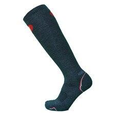 1 пара темно-серого цвета тяжелые носки для сноубординга мужские носки очень толстые носки из мериносовой шерсти