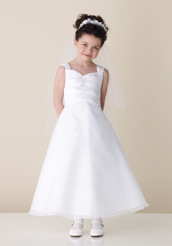 A-Line Flower Girls Dresses For Wedding Gown Fashion Girl Birthday Party Dress Ankle-Length Girl Clothes Mother Daughter Dresses стоимость