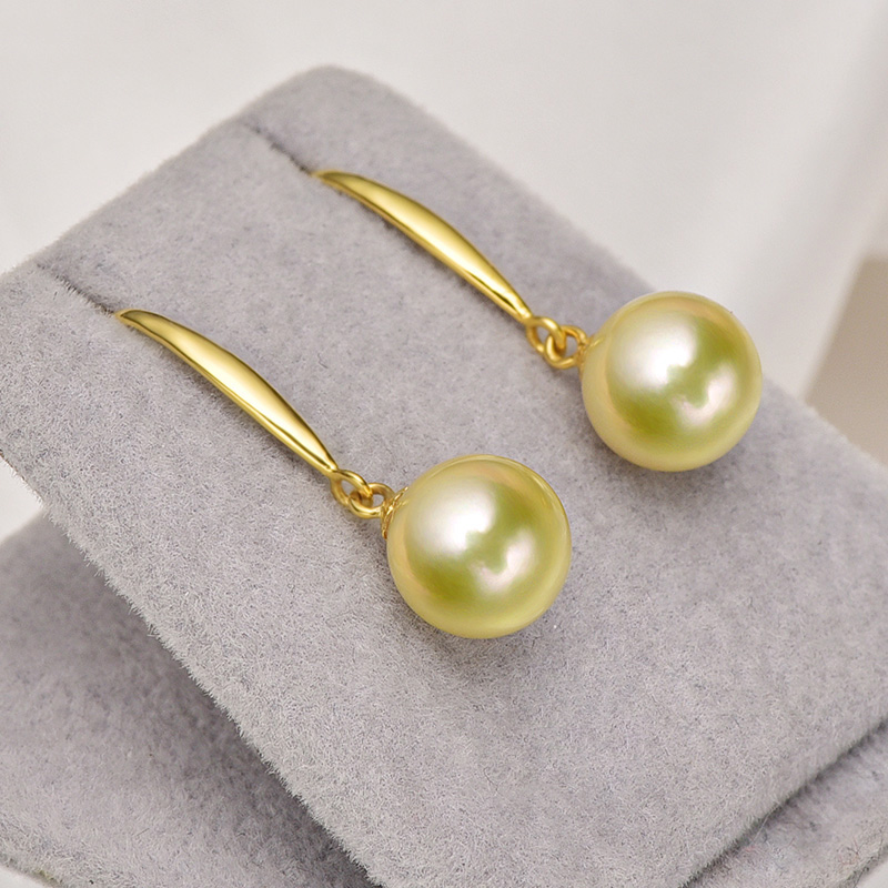[YS] Hot Sale Classic Style Earring 7.5-8mm Japanese Akoya Pearl Drop - Fine Jewelry - Photo 4