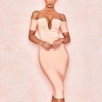 Women Bandage Dress Bodycon Vestidos Club Mini Clothes Summer Dress Short Sleeve Sexy Celebrity Evening Party