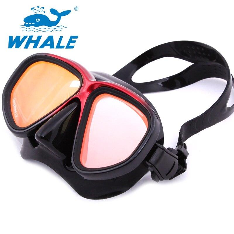 8cd379c5475e9 Espelhado Óculos de Natação profissional Equipamento de Mergulho Máscara  Óculos de Proteção Temperado Vidro temperado