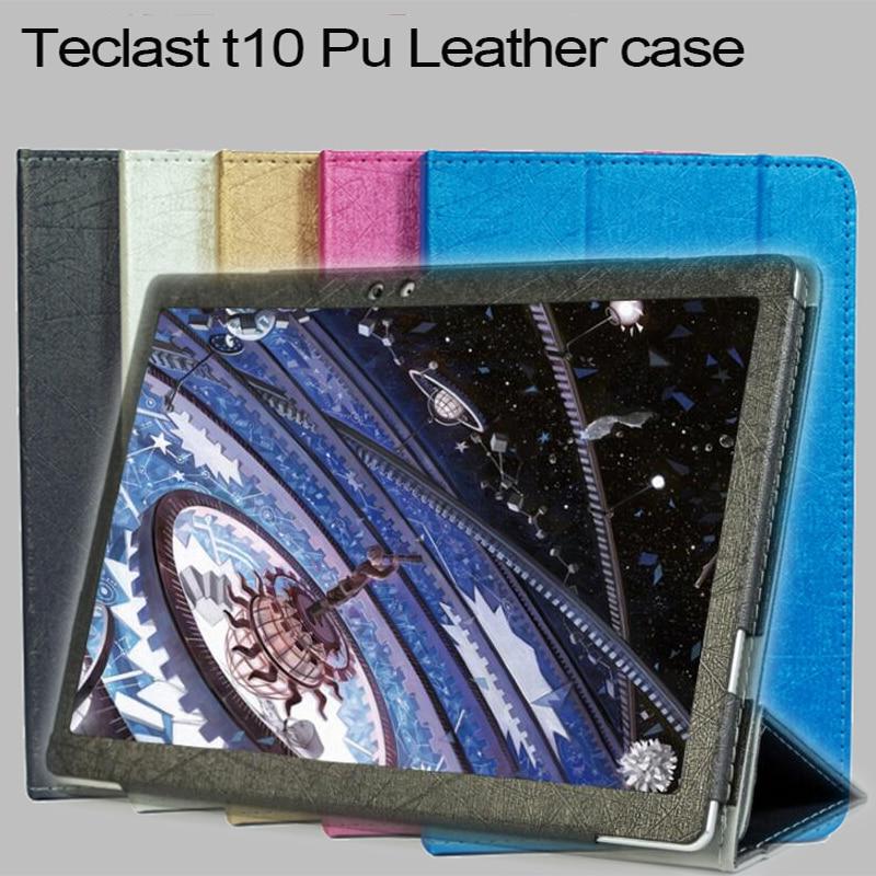 2018 Newset de alta calidad de moda teclast T10 Funda de cuero con soporte función para teclast T20