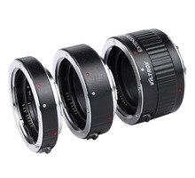Metal Mount Auto Focus AF Macro Extension Tube Lens Adapter for Canon EOS 750D 700D 650D 70D 60D 5D II 7D DSLR