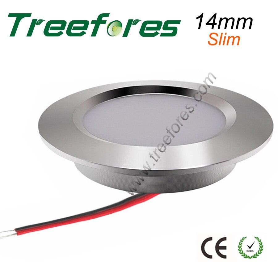 14mm Slim Mini 2inch Cut LED 12V Ceiling Downlight 80Ra 240Lm Lighting 3 Watts Bulb LightCE RoHS