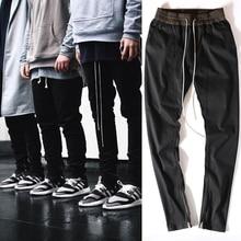 Zipper pantalon mode hop