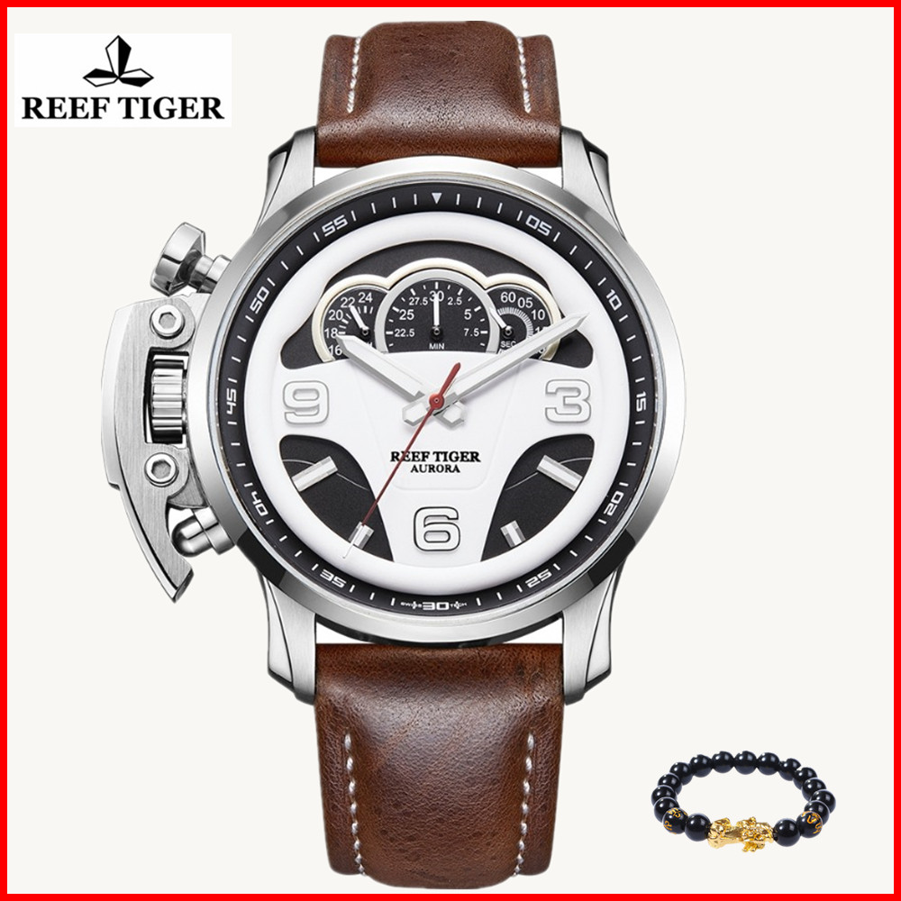 2019 Reef Tiger/RT Top Brand Mens Sport Watches Chronograph Stop Watch Steel Water Resistant Watches Masculino Relojes RGA21052019 Reef Tiger/RT Top Brand Mens Sport Watches Chronograph Stop Watch Steel Water Resistant Watches Masculino Relojes RGA2105