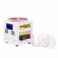 Магнитный стакан ювелирные изделия Полировочный инструмент для окончательной отделки отделка машины, магнитная полировальная машина В AC В