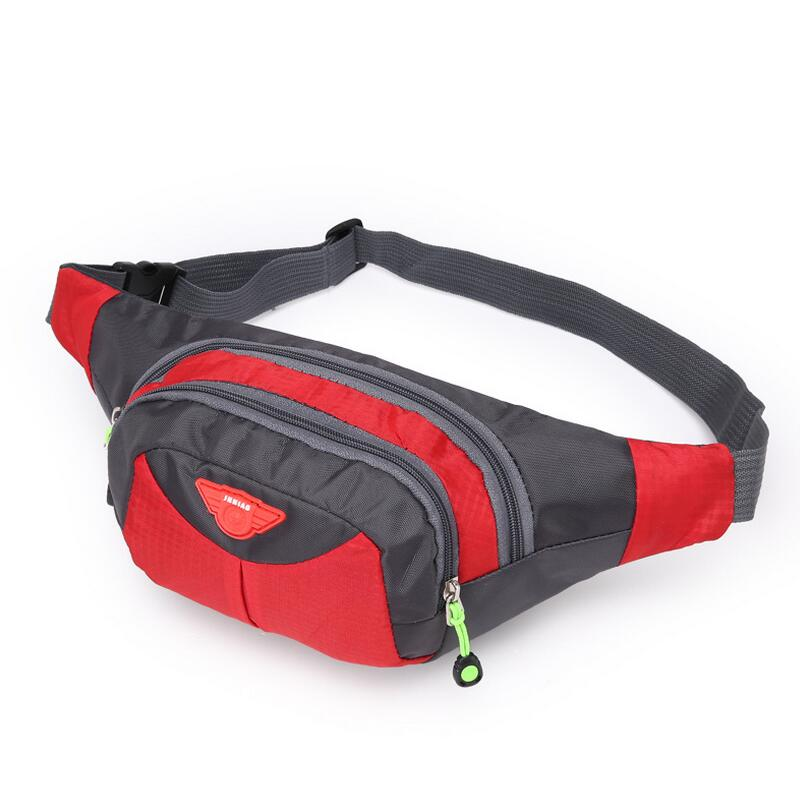 Outdoor Sport Travel Chest Pack Waist Bag Men Women Nylon Belt Waist pack Fishing bicycle Mobile Phone Bag