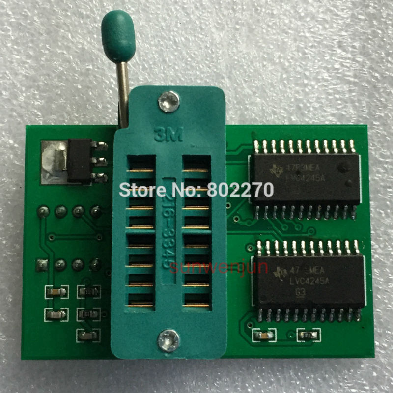 1.8V adapter SPI Flash Memory SOP8 DIP8 for Iphone//motherboard,TL866,MX25 Series