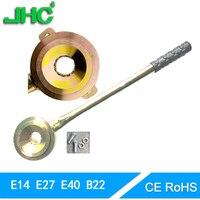 E27 lamp holder lock lamp holder E14B22E12E40 lamp holder