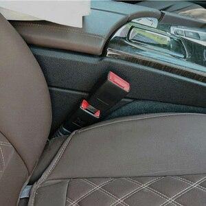 Image 4 - 1 Pcs 21mm Car Socket Seat Belt Clip Extender for Audi A3 A4 B6 B8 Audio A6 C6 8P C5 B7 A5 Q7 Q5 B5 Mitsubishi Outlander Lancer