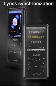 Image 3 - Ruizu D16 8G métal Bluetooth lecteur MP3 haut parleur intégré avec radio FM enregistreur vocal ebook lecteur de musique vidéo Portable