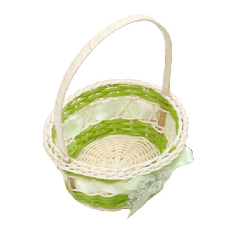 Mini Plastic Weven Opslag Mand Simuleren Fruit Rotan Opbergdoos Voor Cosmetica Thee Picknick Mand Organizer