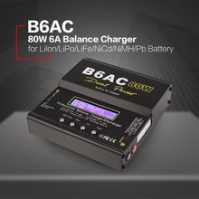 iMAX B6/6AC EU/US 80W 6A Lipo NiMh Li-ion Ni-Cd RC Balance Charger10W 2A Discharger with15V/6A AC/DC Adapter forRC Model Battery(China)