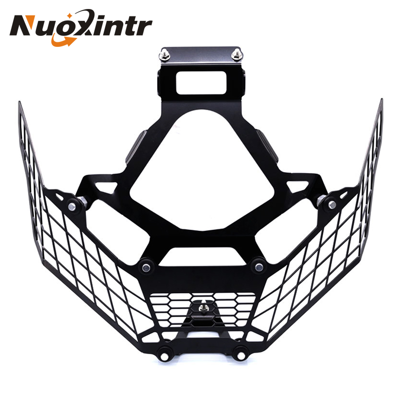 NUOXINTR Motorcycle Head Light Grill Guard Lamp Cover Protector For HONDA X-ADV 750 X ADV XADV 750 2017 2018 radiator protective cover radiator guard for honda x adv 750 2017 on black
