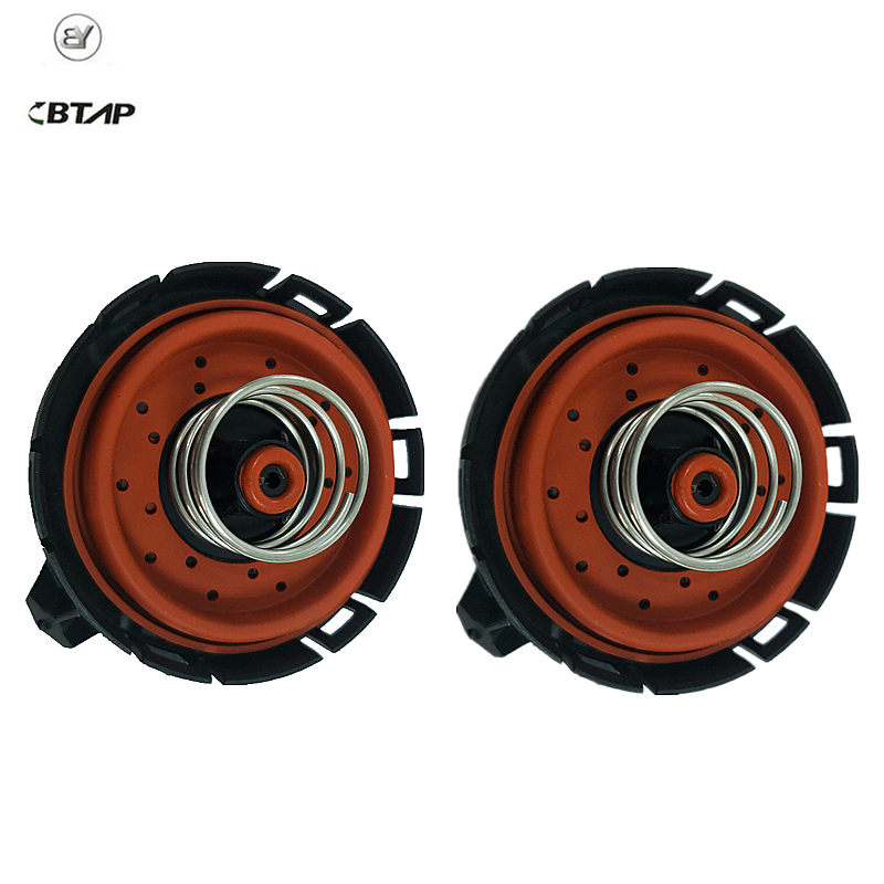 BTAP 2 PCS Crankcase Pressure Vent Regulating PVC Valve For BMW E53 E60 E63 E65 545i 550i 650i 745Li 11127547058 11127537733