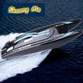 ШУАН МА 7014 Высокоскоростной 2.4 Г RC Лодка Электрические Дистанционного Управления На Катере с Супер Водяным охлаждением Двигателя RC лодка