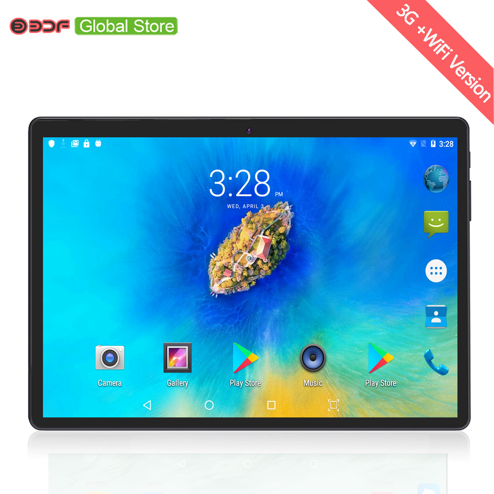 Russian Warehouse Ships 10 Inch Original 3G Phone SIM Card Tablet Pc Android 7.0 Quad Core 1GB RAM 32GB ROM Tablets