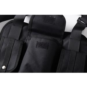 Image 5 - Dark Icon Multi Function Pocket Gilet 2019 New Fashion Vest Best Match Hip Hop Vest Men Streetwear Clothing