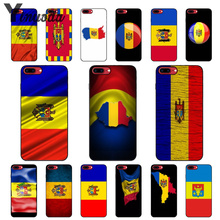 Yinuoda Moldova Flag DIY Printing Drawing Phone Case cover Shell for Apple iPhone X XS MAX 8 7 6 6S Plus 5 5S SE XR Cellphones