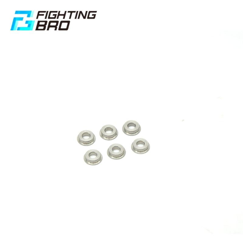 Fighting BRO 6mm Bushing Steel For Airsoft Accesscries Gel Blaster AEG Air Guns Jinming8 Jinming9 Paintball