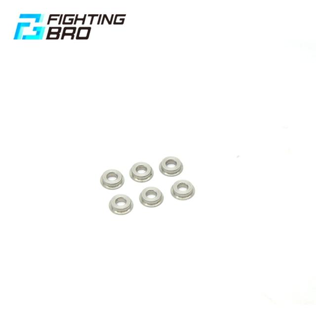 Fighting BRO buje de acero de 6mm para Airsoft Accesscries, pistolas de aire de Gel Blaster AEG Jinming8 Jinming9, Paintball