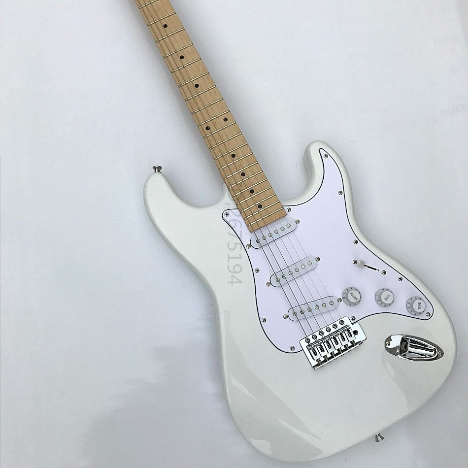 Freight free,The lowest price, the best quality,quality and feel very good, you deserve,White Guitar,Welcome to DK factory store  цены