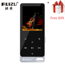 2017 New Original RUIZU X19 All Metal Touch Screen HIFI MP3 Player 8GB High Quality Lossless Sound Player with FM Radio