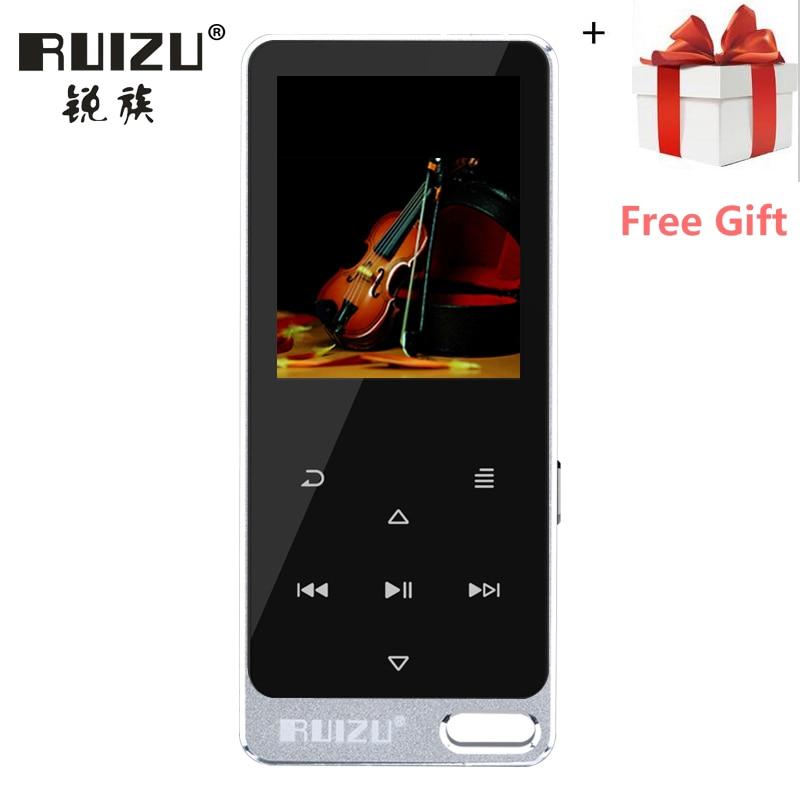 2017 New Original RUIZU X19 X05S All Metal Touch Screen HIFI MP3 Player 8GB High Quality