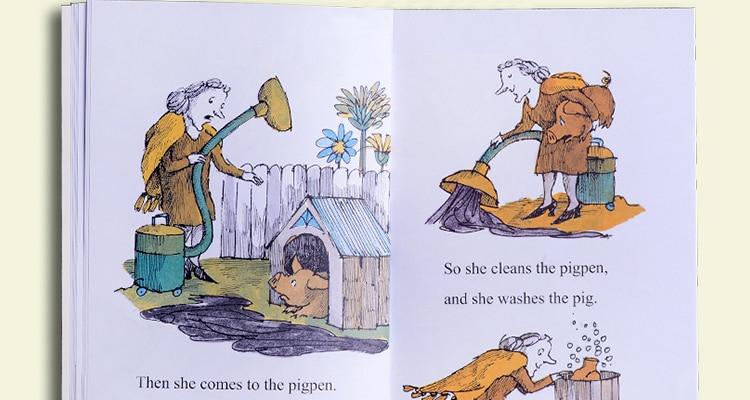 nível 2 inglês história imagens livros para