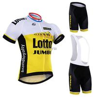 2016 Lotto Quick-Dry Cycling Clothes Racing Bike Cycling Jerseys/Breathable MTB Jerseys Cycling Shorts Ropa Ciclismo