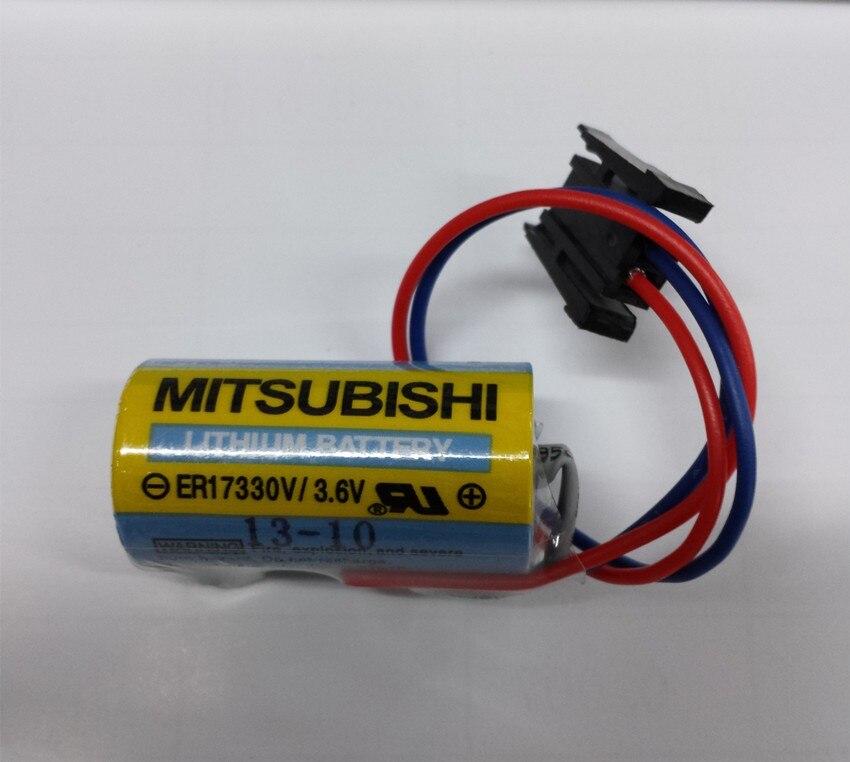 100% original nouveau 4 PCS/lot er17330v PLC3.6V batterie A6BAT PLC batterie