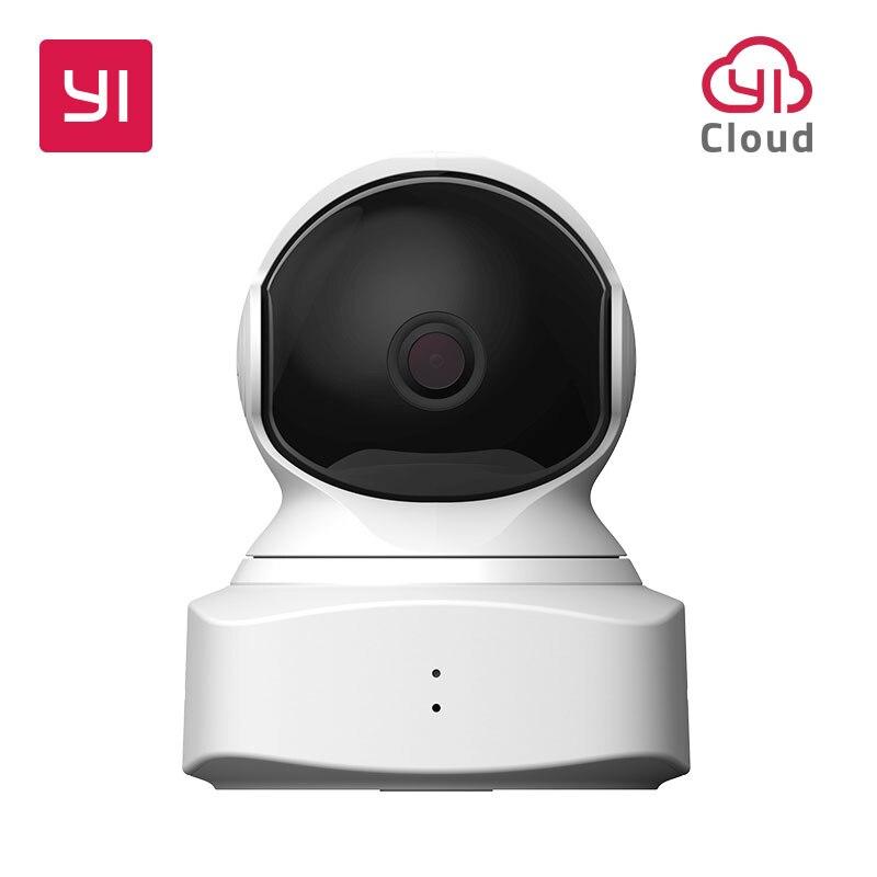 YI Nuvem Câmera Casa 1080 p HD de Segurança IP Sem Fio Da Câmera Pan/Tilt/Zoom Noite Sistema de Vigilância Interna visão de Detecção De Movimento