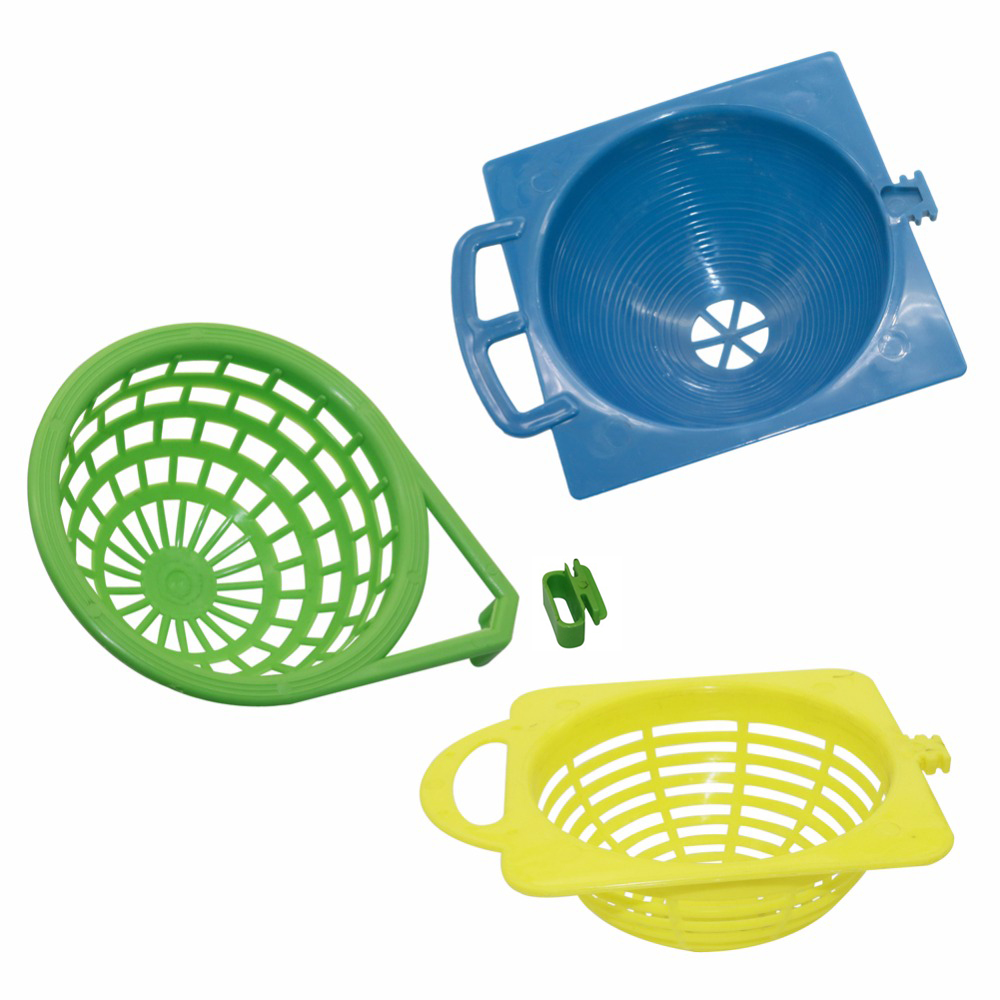 Plastic Canary Nest Cage decorative cages 3 optional bird eggs Nest Pan Pet Birds Hatching Tools Supplies
