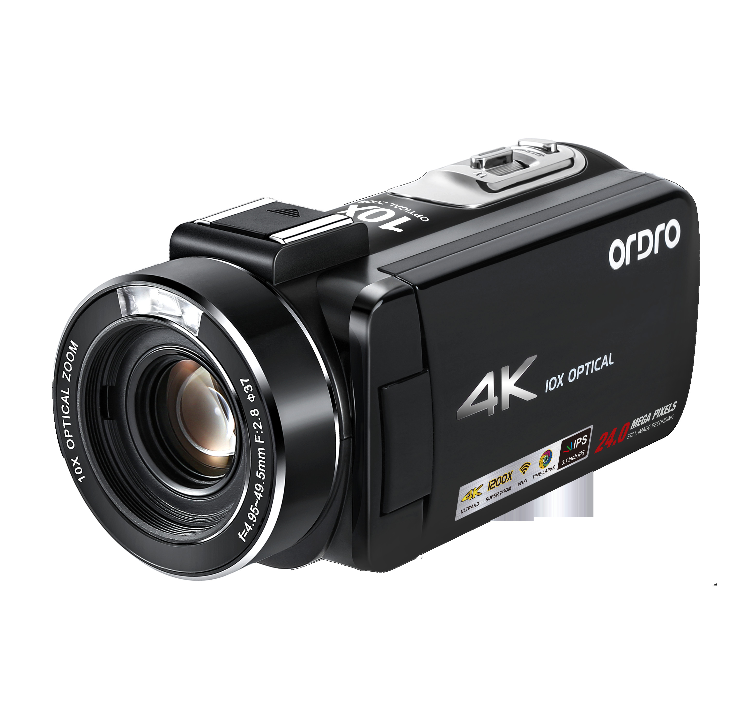 Ordro AC7 4K HD WIFI 24MP Digital Camera Infrared Video Recorder Night Vision 10xoptical Zoom PC For Live SteamingOrdro AC7 4K HD WIFI 24MP Digital Camera Infrared Video Recorder Night Vision 10xoptical Zoom PC For Live Steaming